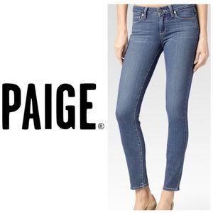 Paige Verdugo Ankle Skinny Jeans 👖 Francine Wash